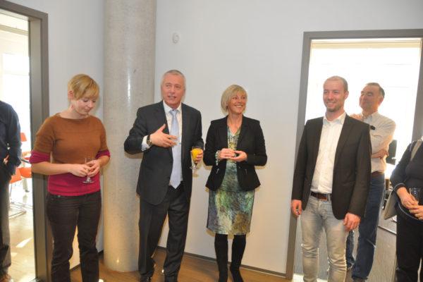 Büroeröffnung Hauptsitz im Brühl Erfurt 1