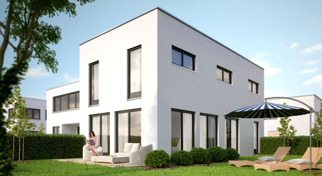 Moderne Einfamilienhäuser in der Erfurter Altstadt - Anhöck ...