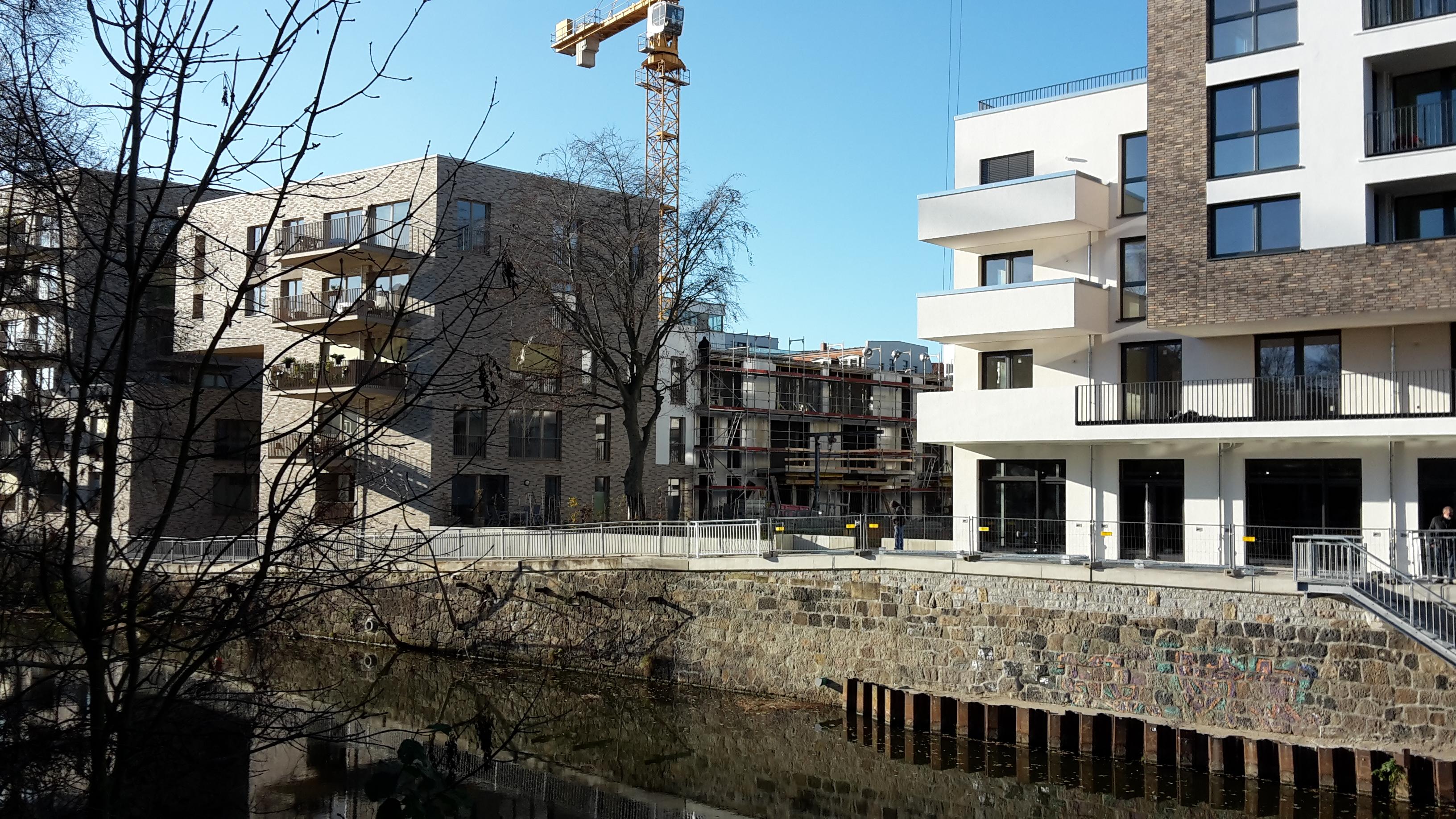 Rohbau im 3. Bauabschnitt der Neuen Leipziger Terrassen schreitet voran
