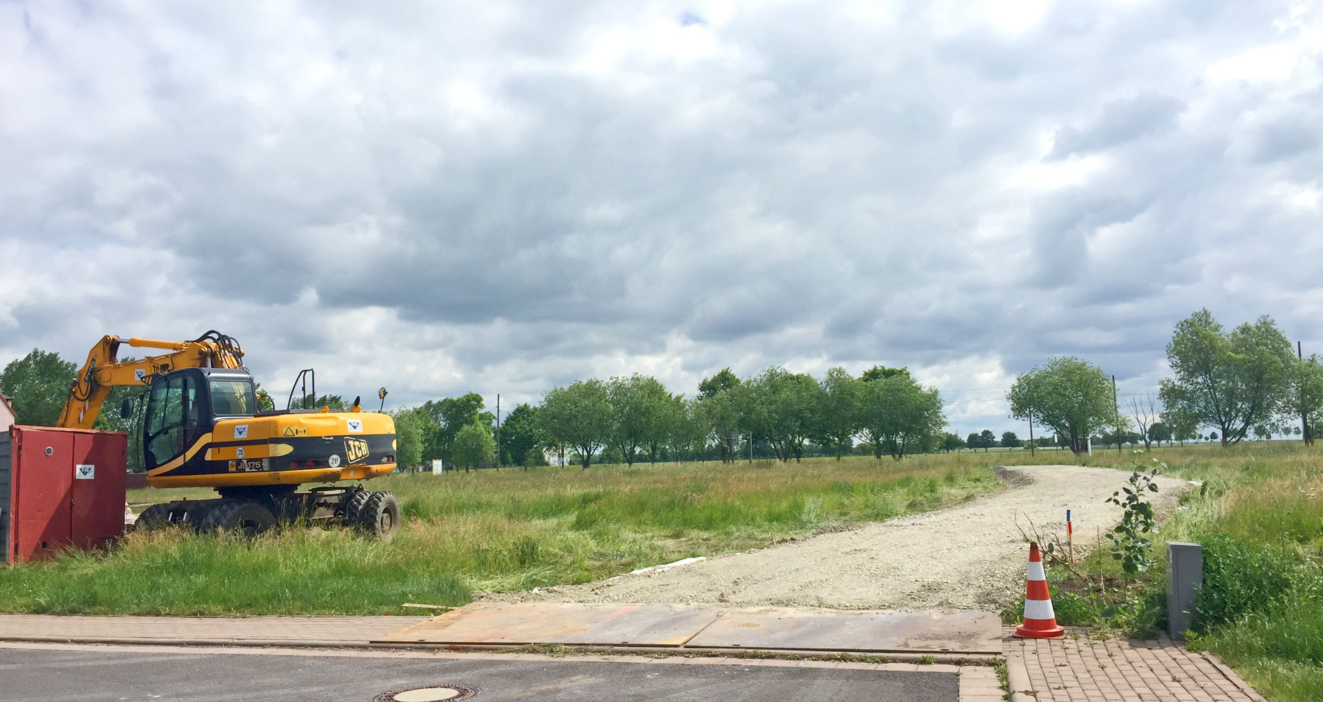 Baubeginn in Erfurt-Frienstedt