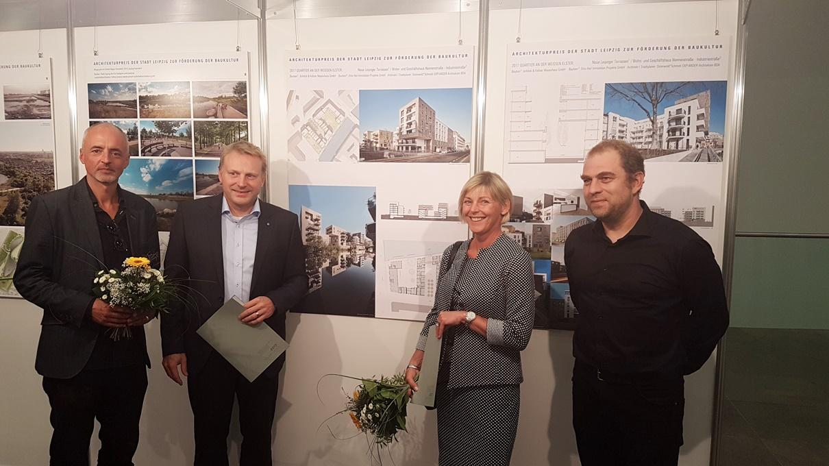 Architekturpreis der Stadt Leipzig für Anhöck & Kellner Massivhaus