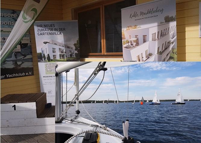 Segeln – nur 5 Min. von unseren Bauprojekten in Markkleeberg entfernt