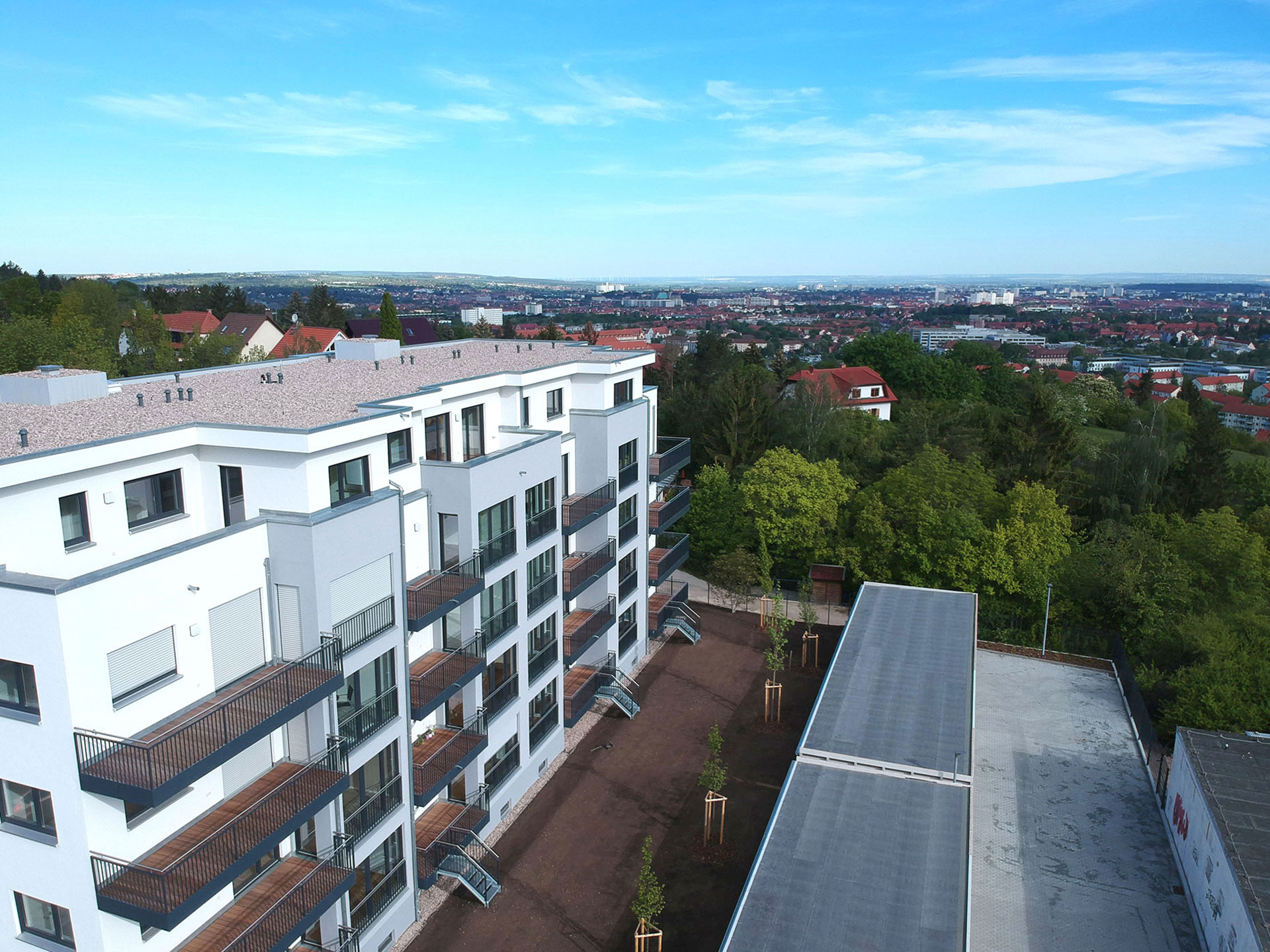 Fertigstellung unseres Mehrfamilienhauses in Erfurt-Süd