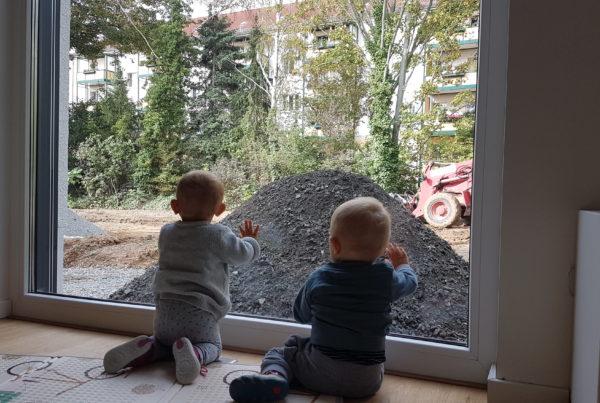 Markkleeberg-Baustelle für Groß und Klein