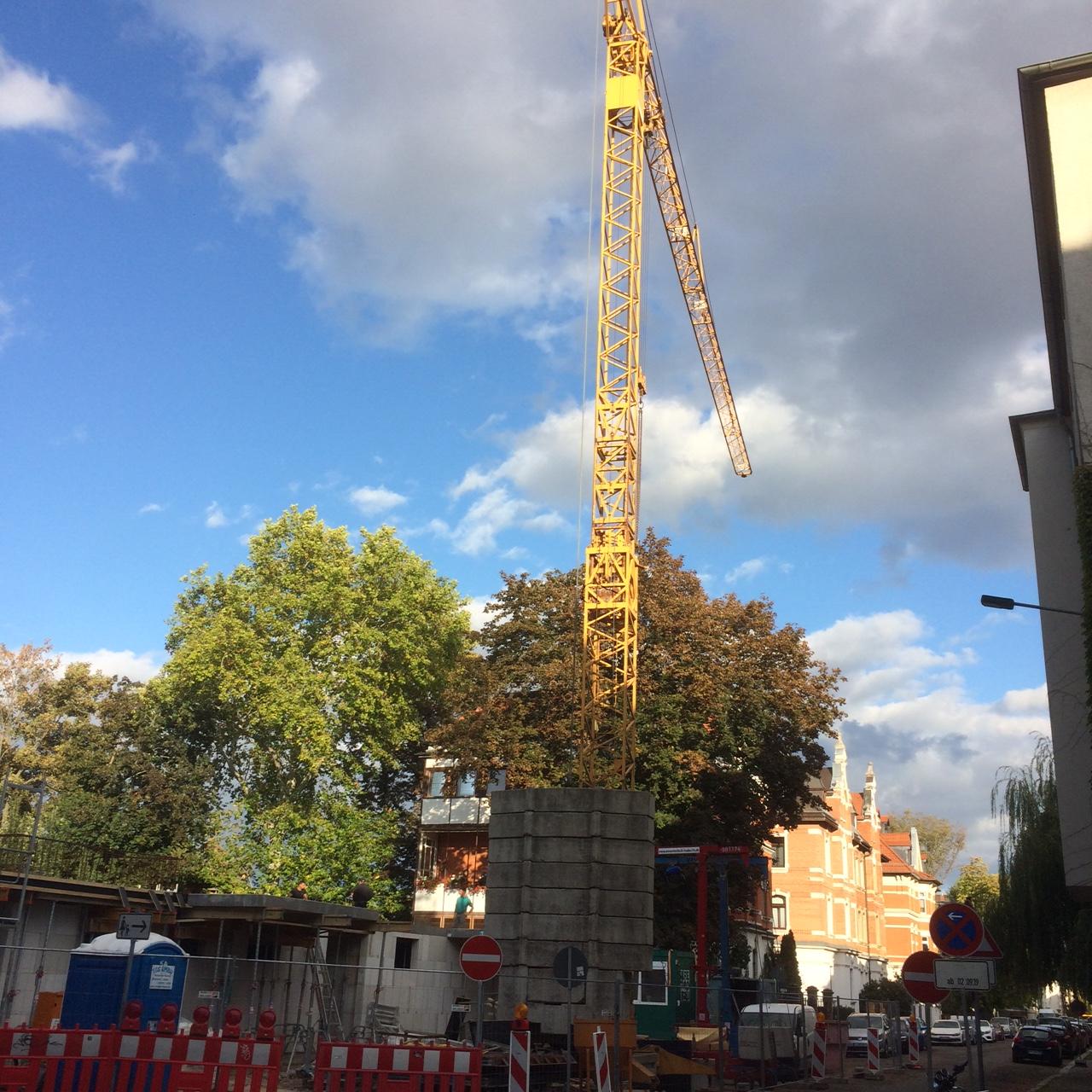 Baustart in der Magdeburger Straße – Leipzig