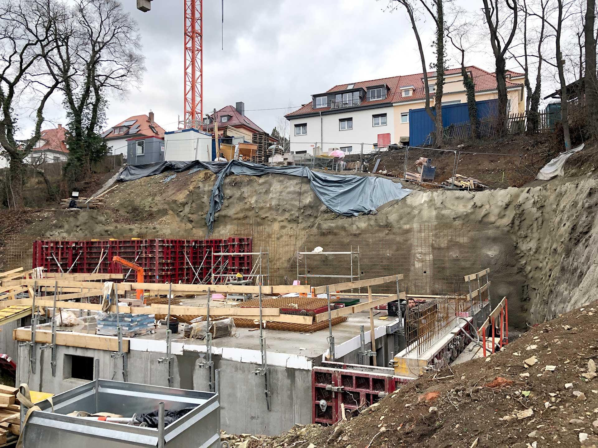 Baufortschritt bei einem unserer aufregendsten Mehrfamilienhäuser