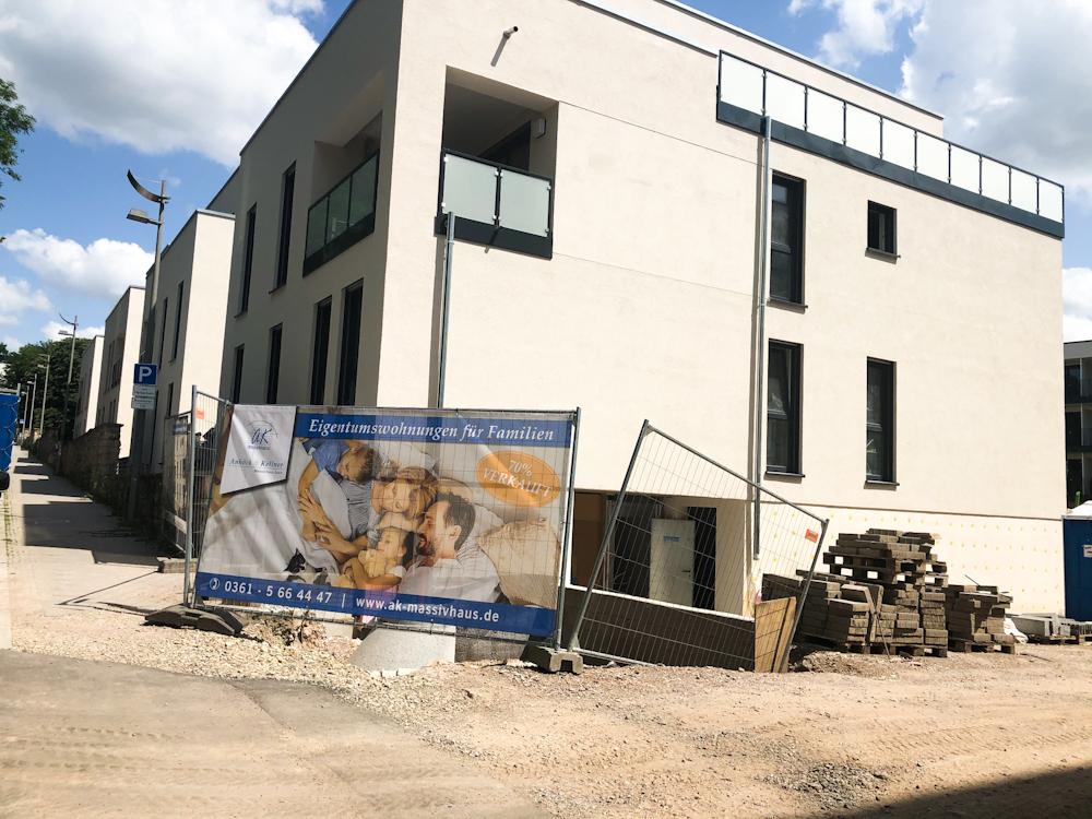 Eigentumswohnung im Erfurter Brühl – Bau läuft planmäßig