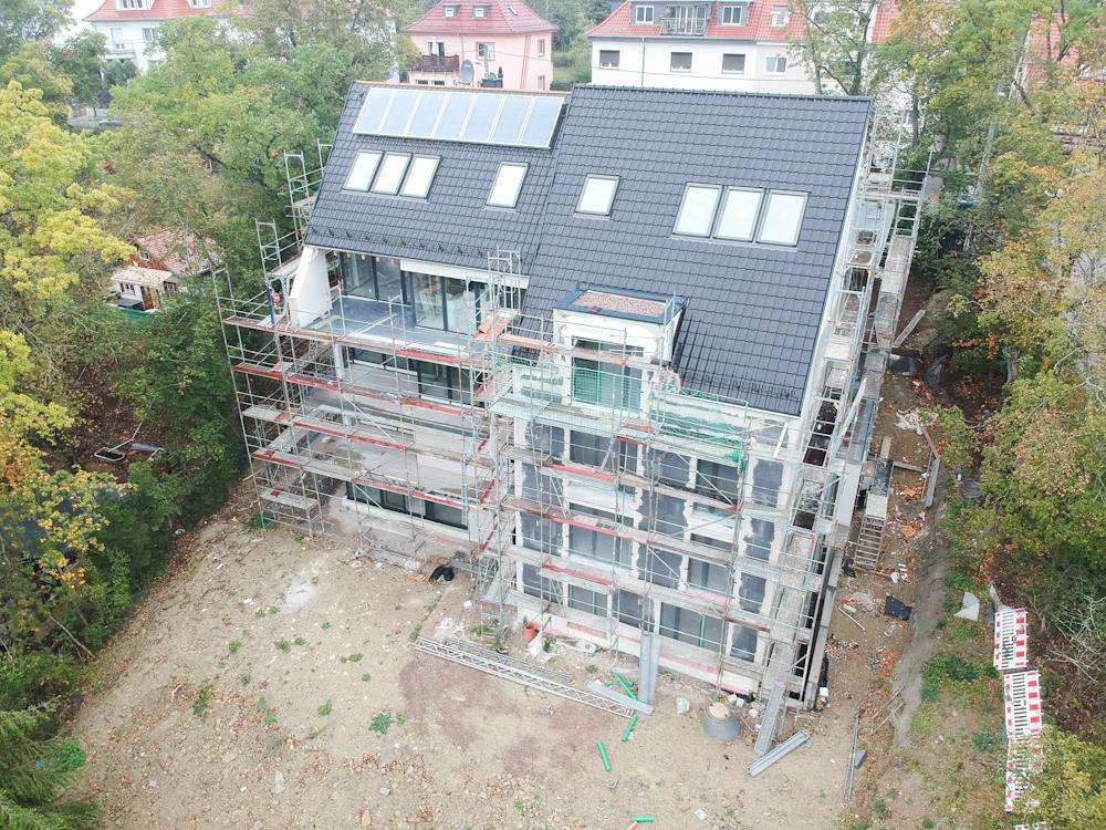 Exklusiv Wohnen in Erfurt, Wartburgstraße – guter Baufortschritt