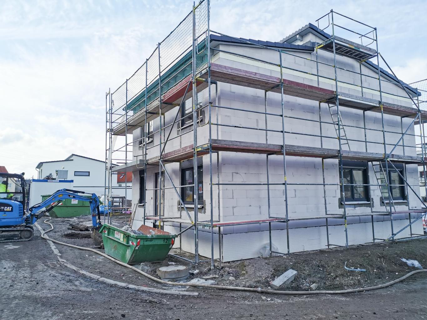 Bau Einfamilienhaus