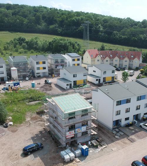 Baugebiet Silbergraben in Erfurt