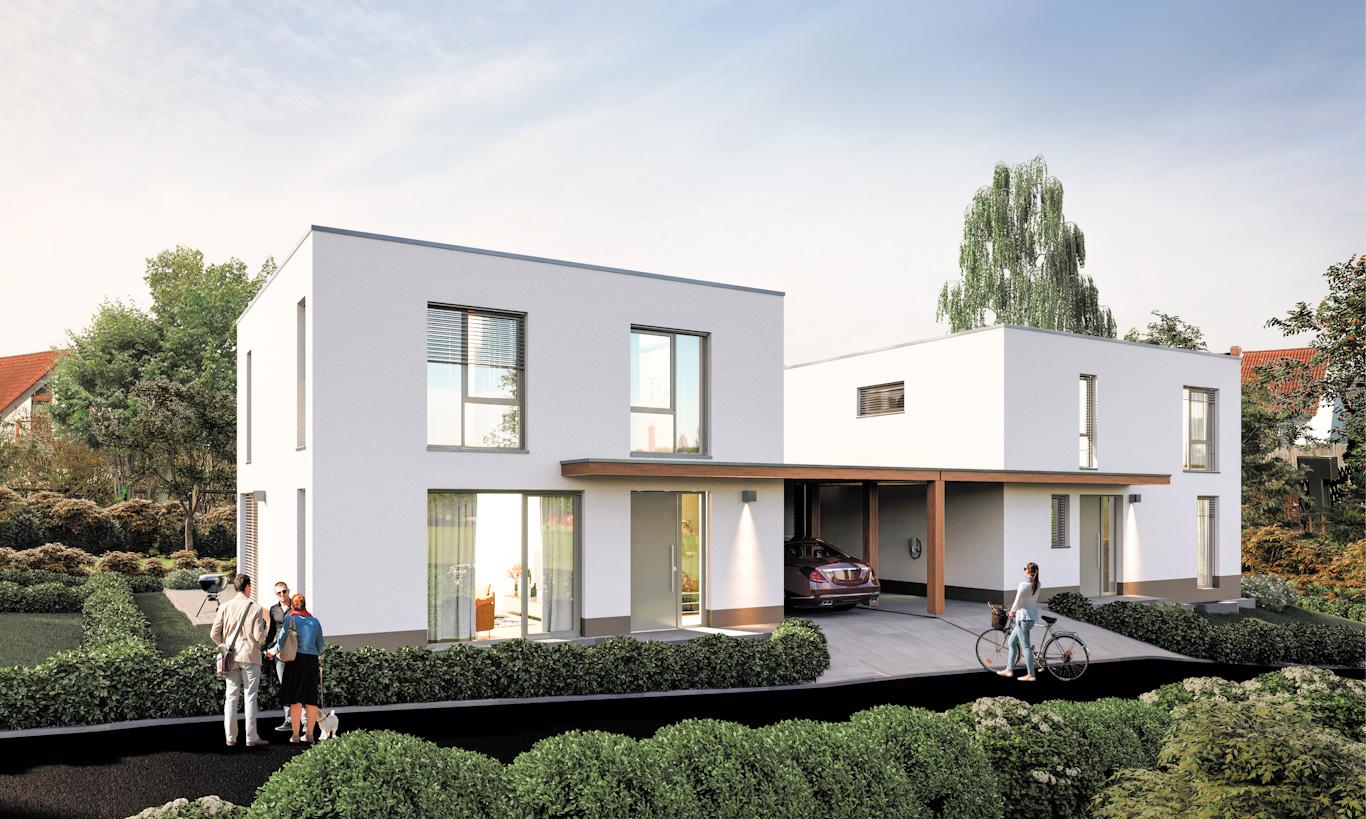 Wachsenburgweg Einfamilienhaus